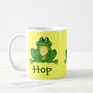 """Hoppy Frog"" - Hop, hop, to it! Mug"