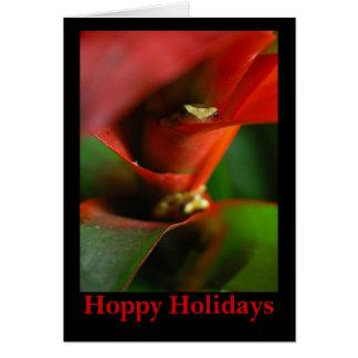 Hoppy Holidays Card