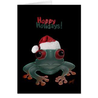 Hoppy Holidays! Card