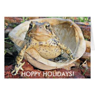 Hoppy Holidays I don't want to hear any hum bugs Card