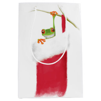 Hoppy Holidays Medium Gift Bag