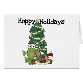 Hoppy Holidays Tshirts and Gifts Card