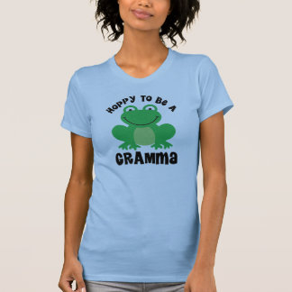 Hoppy To Be A Gramma Gift T-Shirt