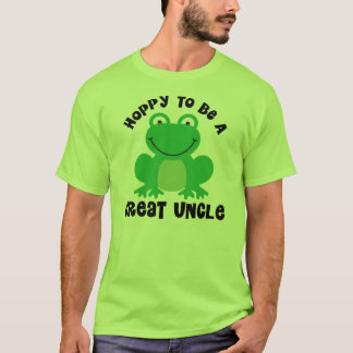 Hoppy To Be A Great Uncle Gift T-Shirt