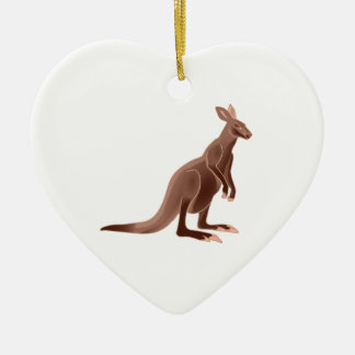 Hoppy Trails Ceramic Heart Ornament