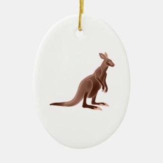 Hoppy Trails Ceramic Ornament