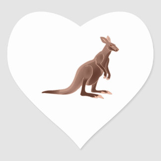 Hoppy Trails Heart Sticker