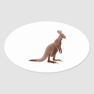Hoppy Trails Oval Sticker