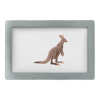 Hoppy Trails Rectangular Belt Buckles