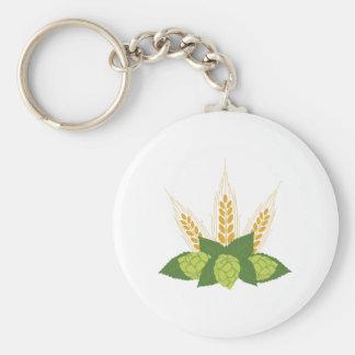 Hops & Barley Keychain