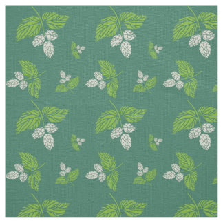 Hops, Botanical Fabric Design