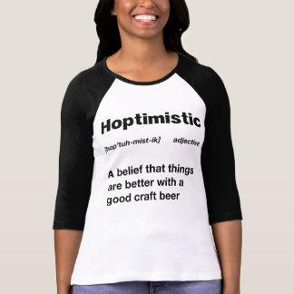 Hoptimistic Funny Definition T-Shirt