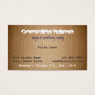 Horace Business Card
