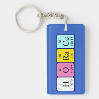 Horace periodic table name keyring