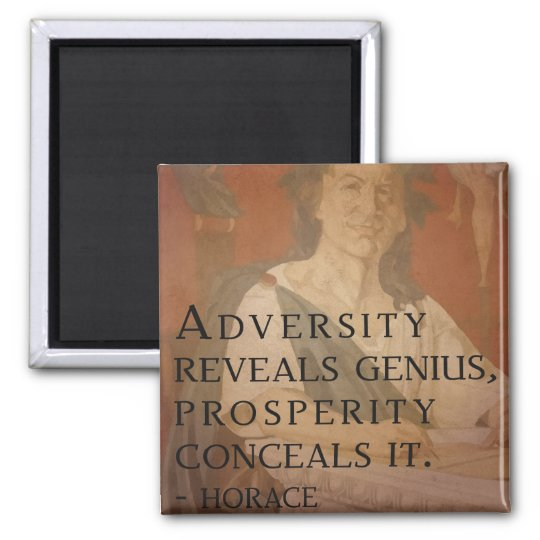 Horace quote on Genius Magnet