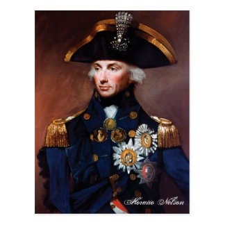Horatio Nelson Postcard