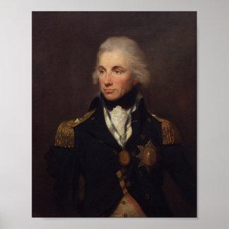 Horatio Nelson Poster Lemuel Francis Abbot