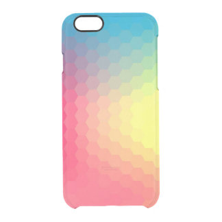 Horizon Comb Clear iPhone 6/6S Case