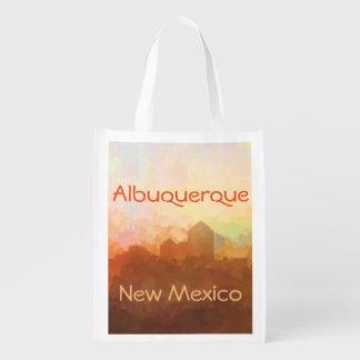 Horizon d'Albuquerque Nouveau Mexique EN NUAGES Cabas Épicerie