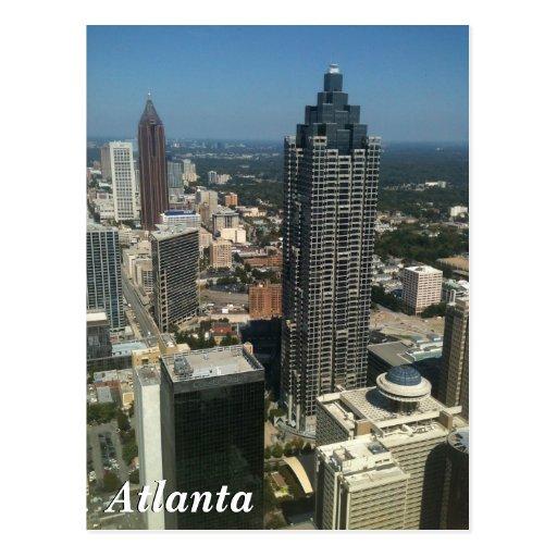 Horizon d'Atlanta Cartes Postales