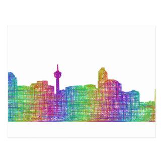 Horizon de Calgary Cartes Postales