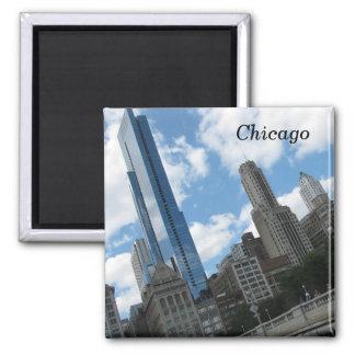 Horizon de Chicago Magnets Pour Réfrigérateur