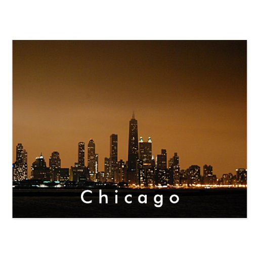 Horizon de Chicago au centre de John Hancock Cartes Postales