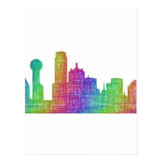 Horizon de Dallas Cartes Postales