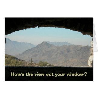 Horizon de l'Arizona (va comment la vue ?) Carte De Correspondance