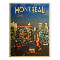 Horizon de Montréal Carte Postale