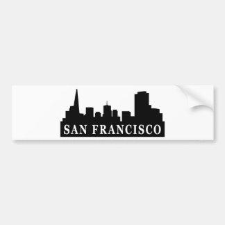Horizon de San Francisco Autocollant De Voiture