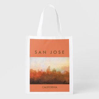 Horizon de San Jose, la Californie EN NUAGES Cabas Épicerie