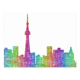 Horizon de Toronto Cartes Postales