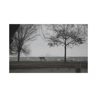 Horizon de Toronto Toiles Tendues
