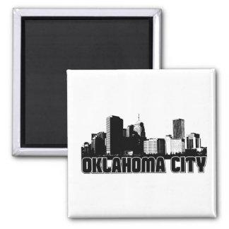 Horizon de Ville d'Oklahoma Magnets