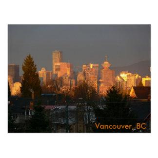 Horizon d'or, Vancouver AVANT JÉSUS CHRIST Carte Postale