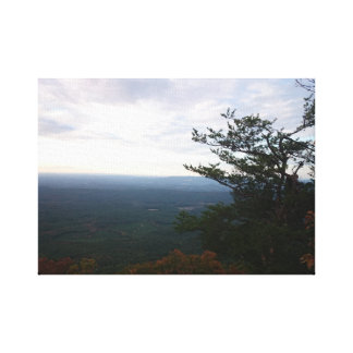 Horizon From Mount Cheaha in Autumn Canvas Print