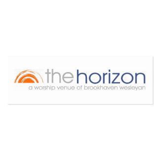 Horizon Promo Card Mini Business Card
