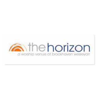 Horizon Promo Card Pack Of Skinny Business Cards