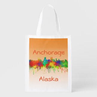 Horizon-SG d'Anchorage Alaska Sacs D'épicerie Réutilisables