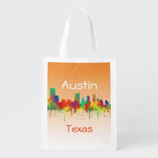 Horizon-SG d'Austin le Texas Sac Réutilisable D'épcierie