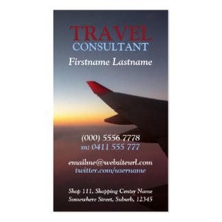 Horizon Travel Flight Business Card