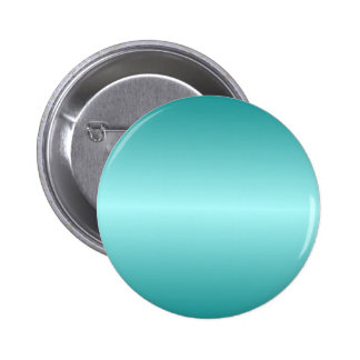 Horizontal Celeste and Teal Gradient 2 Inch Round Button
