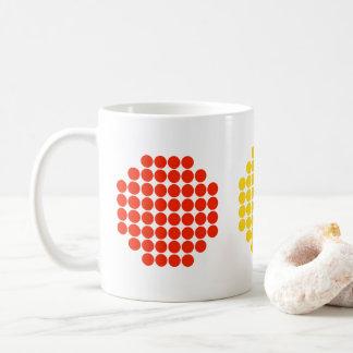 Horizontal Dot Stoplight Colors Coffee Mug