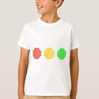 Horizontal Dot Stoplight Colors T-Shirt
