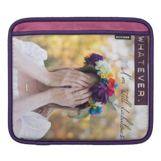 Horizontal iPad Sleeve