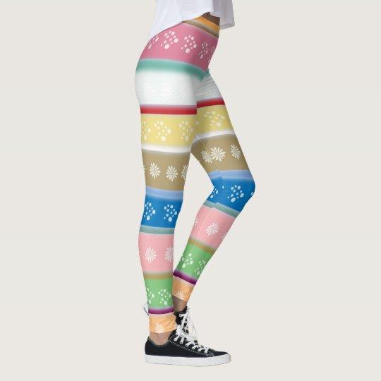 Horizontal Lines Leggings