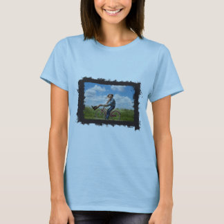 Horizontal Photo Grunge Frame Create Your Own T-Shirt