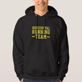 Horizontal Running Team Hoodie