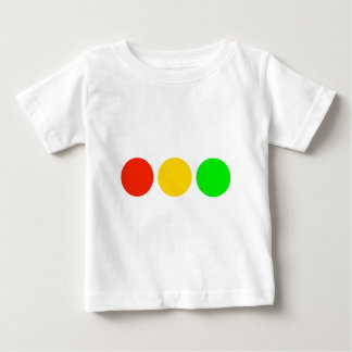 Horizontal Stoplight Colors Baby T-Shirt